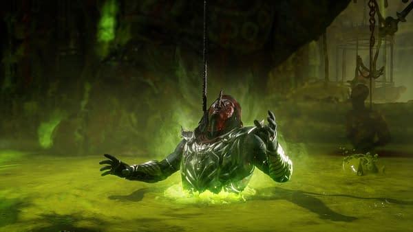 Watch Liu Kang take an acid bath in Mortal Kombat 11 Aftermath, courtesy of NetherReam Studios.