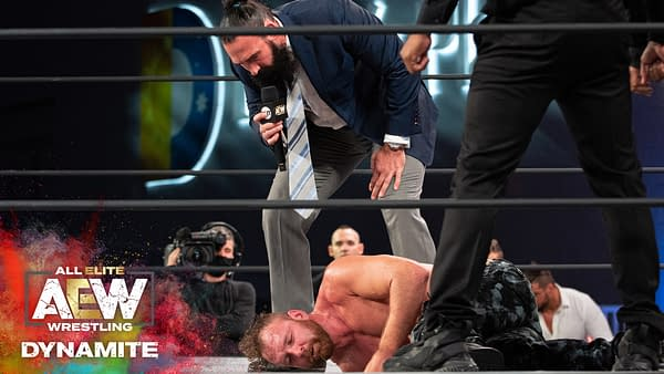 Brodie Lee and the Dark Army have a message for Jon Moxley, courtesy of AEW.