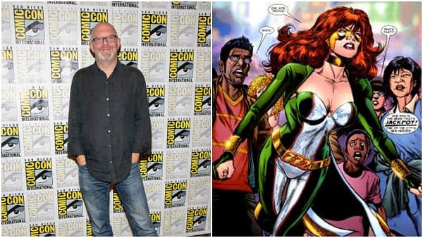 """L-R: Marc Guggenheim attends 2019 Comic-Con International CW's """"Arrow"""" at Hilton Bayfront, San Diego, California on July 20 2019. Editorial credit: Eugene Powers / Shutterstock.com. 