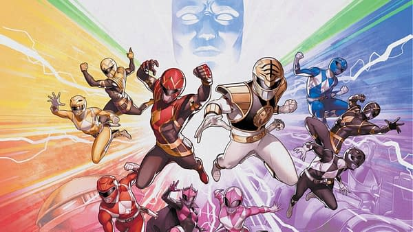 What's The Big Secret in Mighty Morphin Power Rangers #50?
