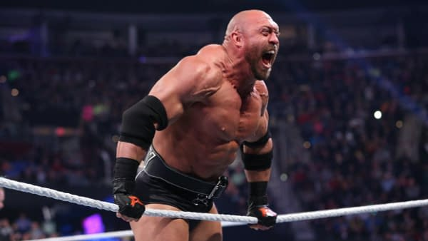 Ryback in the ring, courtesy of WWE.