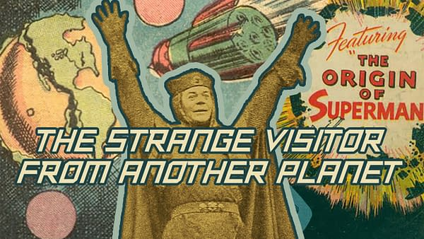 The First Strange Visitor from Another Planet