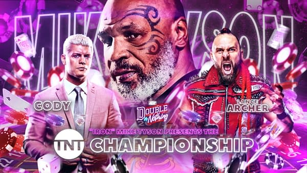 Mike Tyson will present the TNT Championship at AEW Double or Nothing.