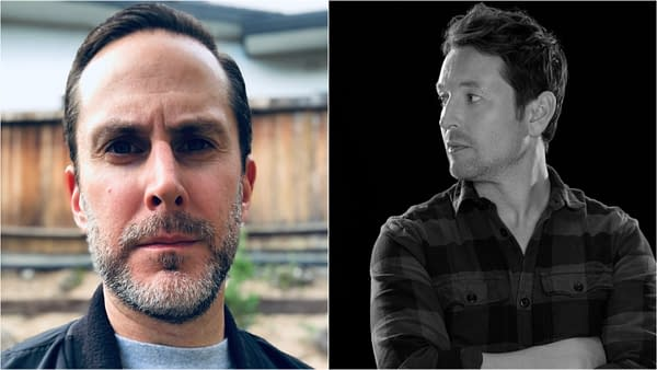 Tim Walsh and Leigh Whannell are bringing Upgrade to television/streaming, images courtesy Blumhouse and UCP.
