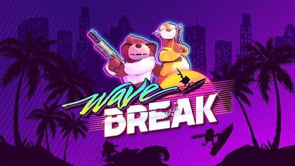 Do cool tricks and maybe solve crimes in Wave Break, courtesy of Funktronic Labs.