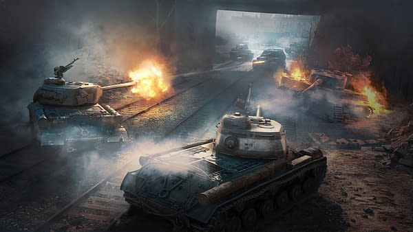 World Of Tanks Road to Berlin Art