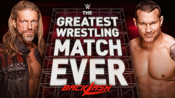 Edge and Christian are set for The Greatest Wrestling Match Ever for BackLash, courtesy of WWE.