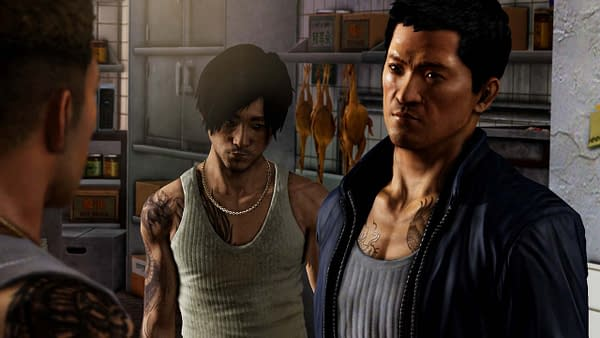 A still from Sleeping Dogs, courtesy of United Front Games.