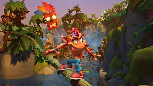 Crash Bandicoot returns, and this time, he's crashing through time. Courtesy of Activision.