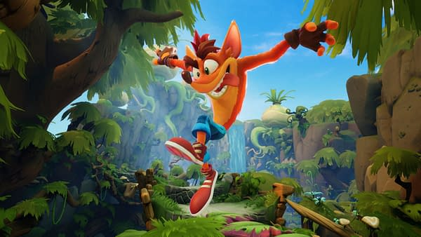 Crash Bandicoot 4: It's About Time will come out on October 2nd, courtesy of Activision.