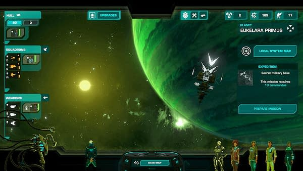 Another screenshot from Crying Suns by Humble Games and Alt-Shift, coming out June 25th of this year.