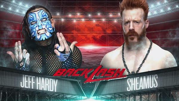 Jeff Hardy takes on Sheamus at WWE Backlash