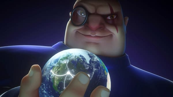 Key art from Evil Genius 2: World Domination, a game developed and published by Rebellion and showcased at the 2020 PC Gaming Show.
