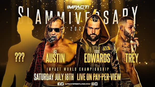 This is the new main event for Impact Wrestling's Slammiversary PPV