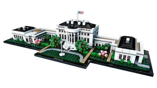 A look at The White House set (21054), courtesy of The LEGO Group.
