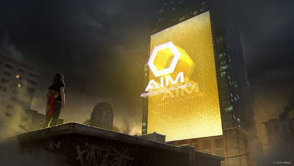 A.I.M. has taken over in the game after the failure of The Avengers, courtesy of Square Enix.
