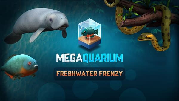 There are a lot more Megaquarium creatures than what's in the sea, courtesy of Twice Circled.