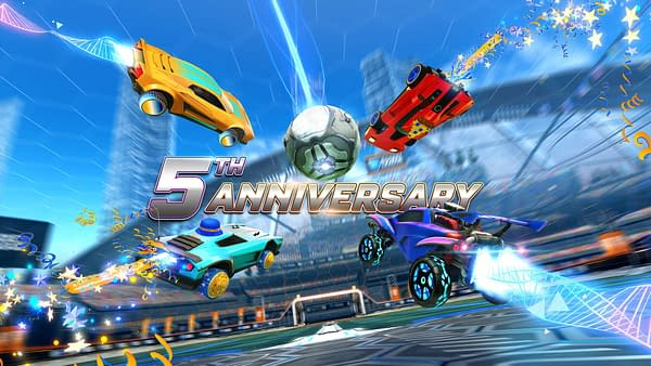 The Rocket League 5th Anniversary will kick off at the end of the month, courtesy of Psyonix.