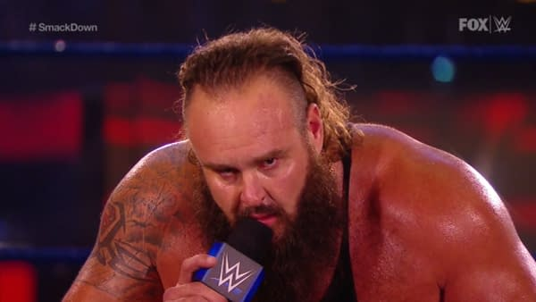 Braun Strowman gets creepy on WWE Smackdown