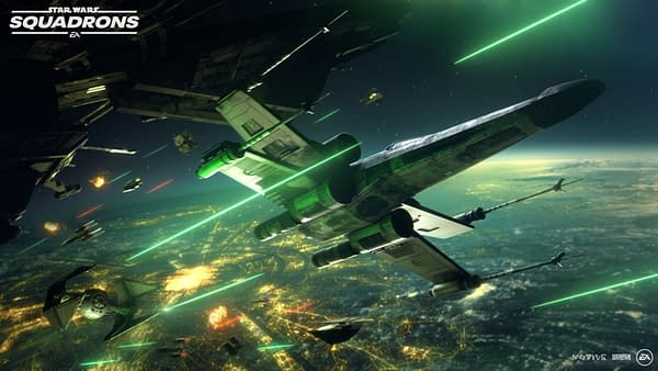 Star Wars: Squadrons will drop on console and PC on October 2nd, courtesy of Electronic Arts.
