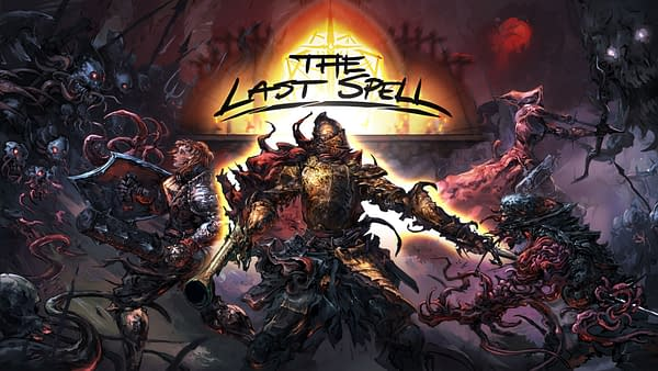 Key art for The Last Spell, an indie tactical-defense RPG by developer The Arcade Crew and publisher CCCP.