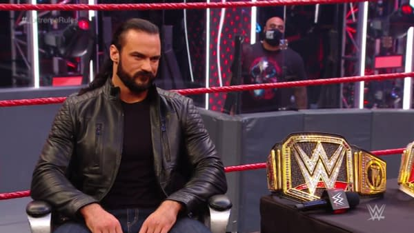 Drew McIntyre on WWE Raw