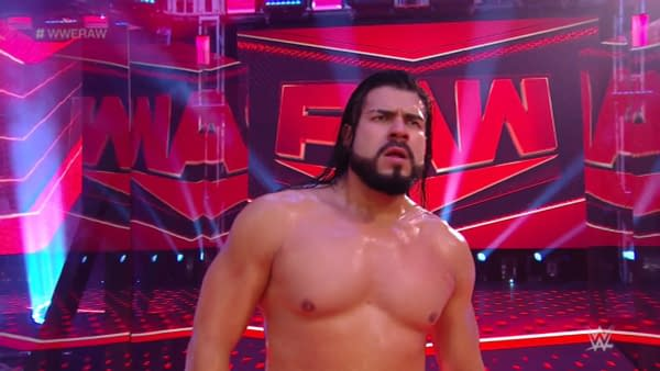Andrade is all like WTF comrade when Vince McMahon doesn't have any plans for him in WWE.