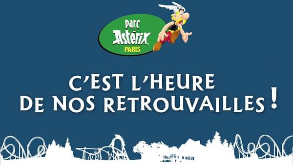 Parc Astérix Opens Its Doors on Monday, With Sickle Distancing.