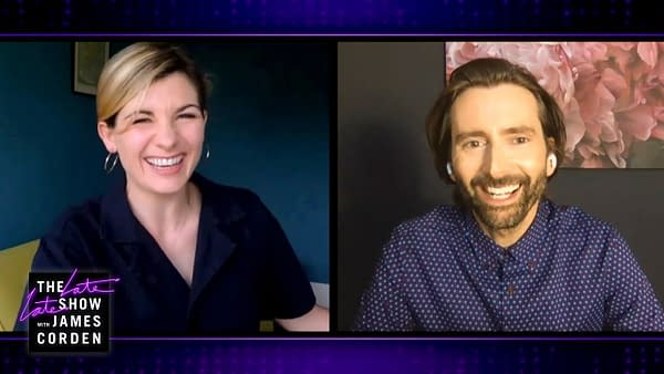 Jodie Whittaker & David Tennant: Doctors Stick Together