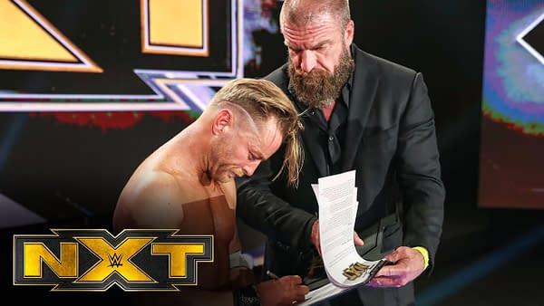 Triple H Gives Drake Maverick a new WWE contract.