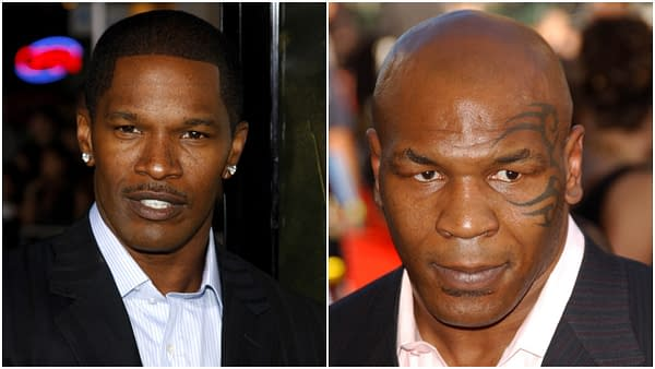"""L-R: Jamie Foxx attends the Los Angeles Premiere of """"The Kingdom"""" held at the Mann Village Theater in Westwood, California, United States on September 17, 2007. Editorial credit: Tinseltown / Shutterstock.com 