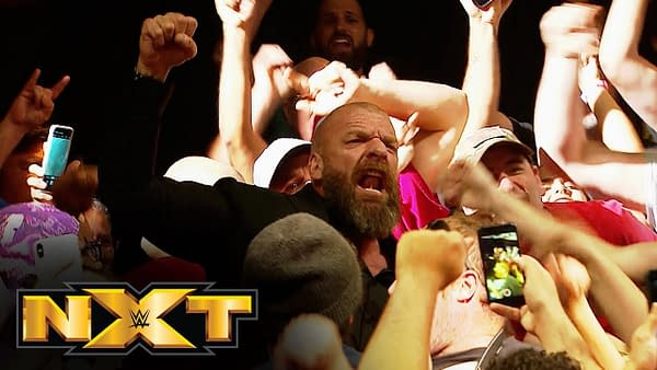 Triple H at NXT (Image: WWE)