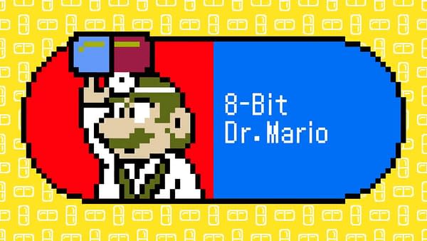The original Dr. Mario makes a return to check up on your health, courtesy of Nintendo.