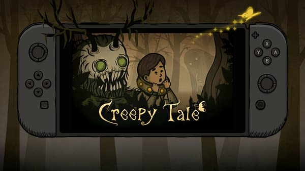 Now you can experience Creepy Tale on the Nintendo Switch, courtesy of No Gravity Games.