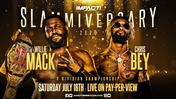 Slammiversary: Chris Bey vs. Willie Mack, Heath and Rhino Reunite (Image: Impact Wrestling)