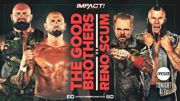 Impact Wrestling 7/28/20 Part 2 - They Can't All Be Winners (Image: Impact Wrestling)