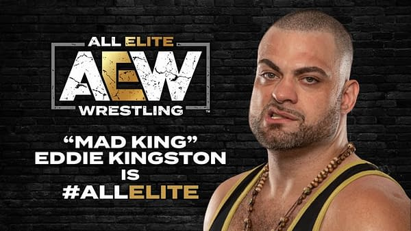 Eddie Kingston has joined the AEW roster.