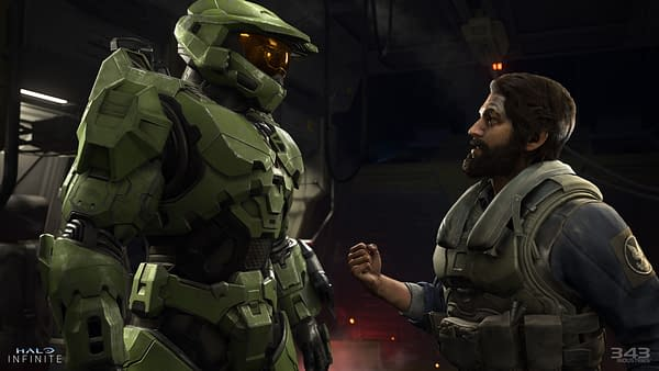 Communication is key! How else will we learn things? Courtesy of 343 Industries.