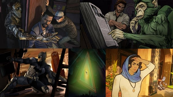 Some of Telltale Games' best titles are included in this bundle, courtesy of Humble Bundle.