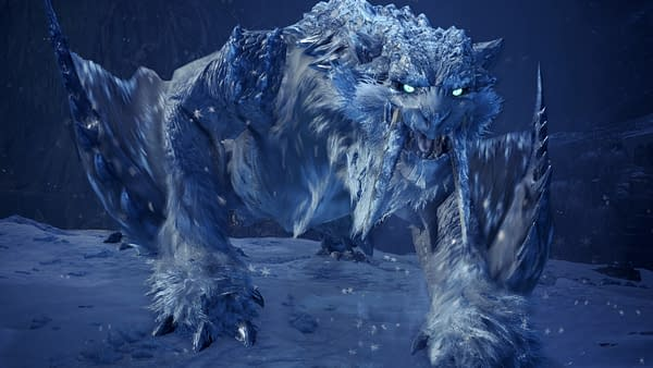A sign of things to come in Monster Hunter World: Iceborne, courtesy of Capcom.