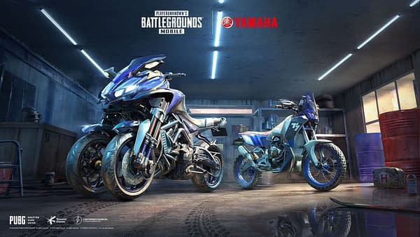 You got a new sweet ride from Yamaha in PUBG Mobile, courtesy of Tencent Games.