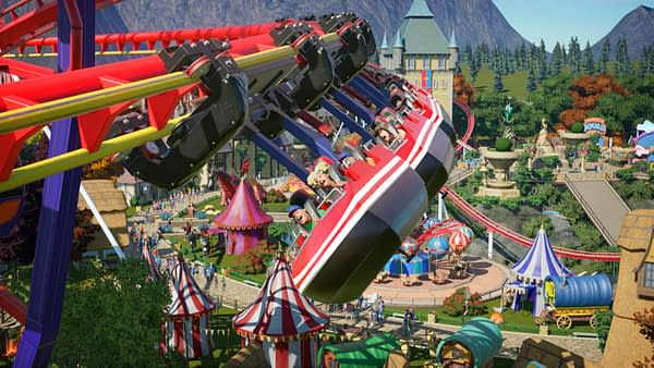 Planet Coaster: Console Edition will be released sometime this holiday season. Courtesy of Frontier Developments.