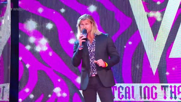 Dolph Ziggler appears on WWE Raw - try to contain your excitement.