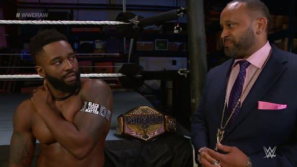 MVP tries to recruit Cedric Alexander on WWE Raw.