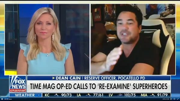 Tom King Tells Fox News You Can Say Truth, Justice & The American Way