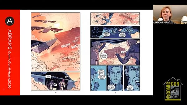 Sneak Peek at Dune Graphic Novel and House Of Atreides Comic #SDCC