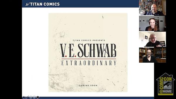 V.E. Schwab Villain Series to Become Extraordinary Graphic Novels