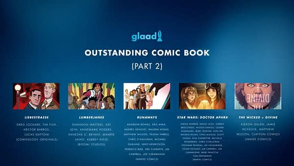 Si Spurrier Accepts GLAAD 2020 Award For Star Wars: Doctor Aphra