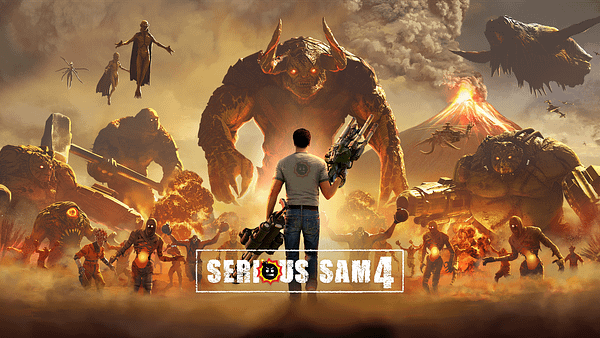 Serious Sam 4 will be released this August, courtesy of Devolver Digital.