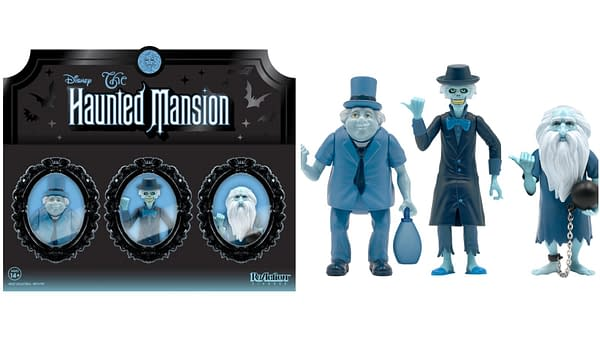 Super7 Reveals New Haunted Mansion, NBX, Creature ReAction Figures